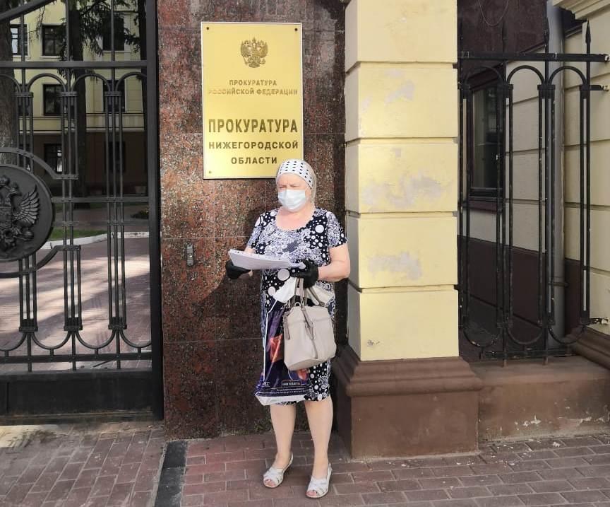 Нижегородская пенсионерка рискует оказаться на улице в результате расселения дома - фото 1
