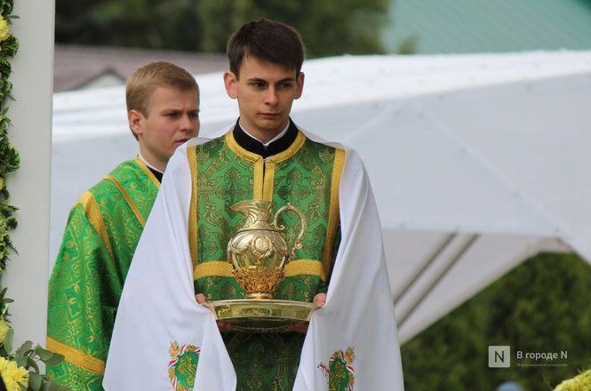 Патриарх Кирилл возглавил божественную литургию в Дивееве  - фото 14